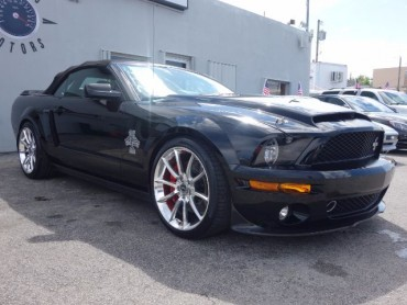2008 Ford Shelby GT500 Super Snake Convertible CONVERTIBLE 2-DR  - 37812 - Image 1
