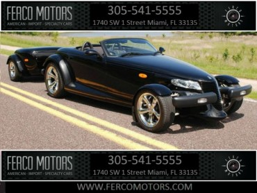 2000 Plymouth Prowler with Trailer CONVERTIBLE 2-DR  - 51150 - Image 1