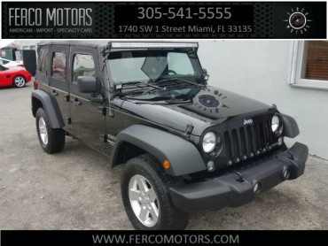 2014 Jeep Wrangler Unlimited Sport 4WD SPORT UTILITY 4-DR  - 52586 - Image 1